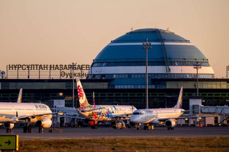 «Международный аэропорт г.Нур-Султан, им. Нурсултана Назарбаева» RU